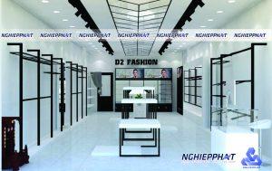 thiết kế thi công nội thất shop