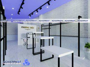 thiết kế sản xuất nội thất shop