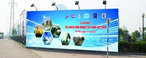 biển pano quảng cáo xây dựng khu đô thị