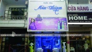 thiết kế biển mặt tiền shop mỹ phẩm