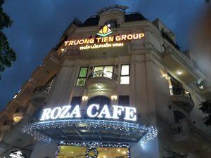 làm biển quảng cáo quán cafe