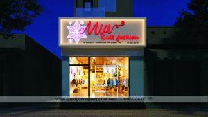 thiết kế biển quảng cáo cho shop thời trang