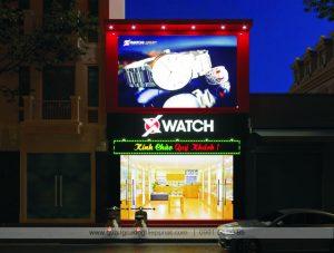 biển quảng cáo đồng hồ