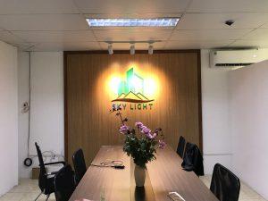 logo văn phòng thể hiện sự chuyên nghiệp