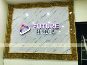 logo backdrop văn phòng
