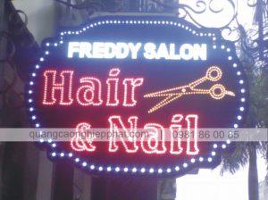 biển led vẫy cửa hàng cắt tóc