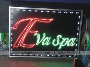 biển led vẫy giá rẻ cửa hàng spa