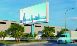 biển quảng cáo tấm lớn tại khu công nghiệp
