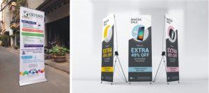 in standy poster nhiều lợi ích về mặt quảng cáo với giá thành thấp