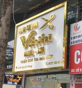 bảng hiệu quảng cáo tiệm hair salon