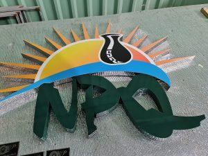 logo công ty cửa hàng inox